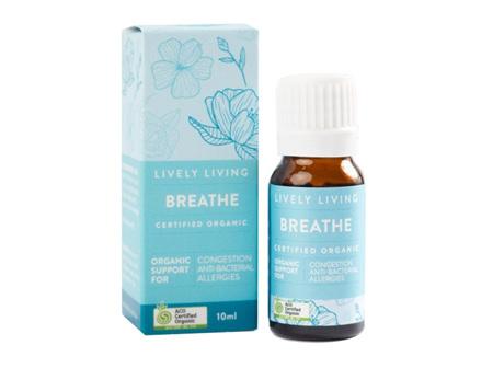 LIVELY LIVING - BREATHE BLEND