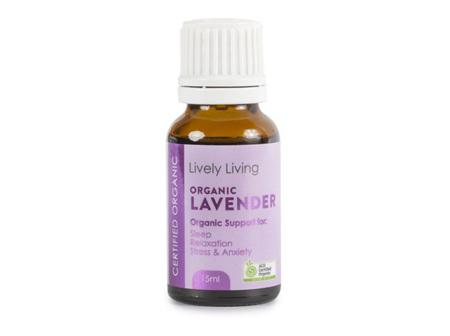 LIVELY LIVING - LAVENDER OIL 15ML