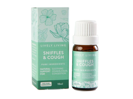 LIVELY LIVING - SNIFFLE/COUGH BLEND