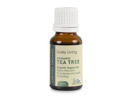 LIVELY LIVING - TEA TREE OIL 15Ml