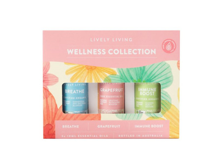 LIVELY LIVING - WELLNESS COLLECTION TRIO