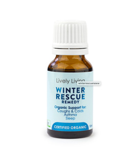 Lively Living Winter Rescue Essential Oil 15 ml