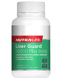 Liver Guard  56000 Plus Boldo - 60 Caps