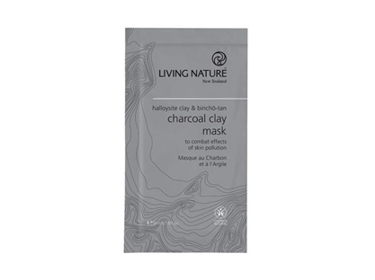 Living Nature NZ - Charcoal Clay Mask