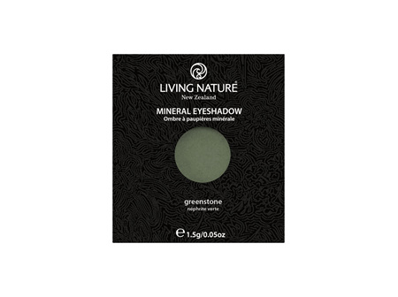 Living Nature NZ - Eyeshadow Greenstone