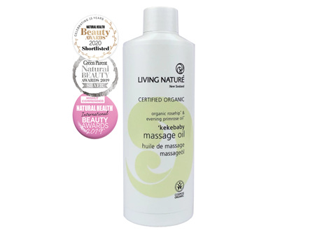 Living Nature NZ - Kekebaby Massage Oil