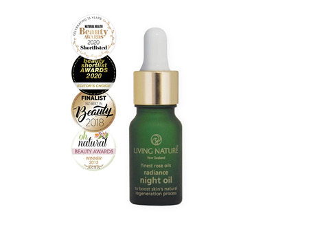 Living Nature NZ Radiance Night Oil 10ml