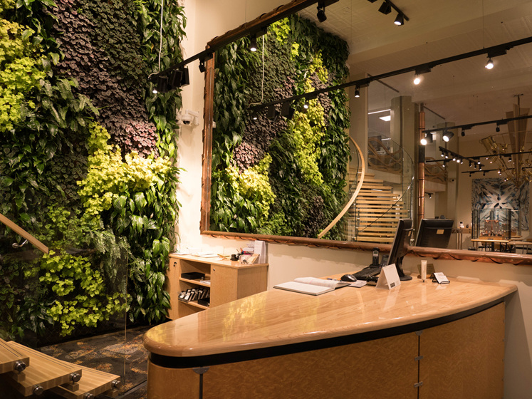 Living Wall, Village Goldsmith