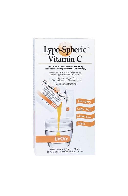 Livon Lypospheric Vitamin C Box Of 30 - TRIPLE PACK SUPER DEAL!