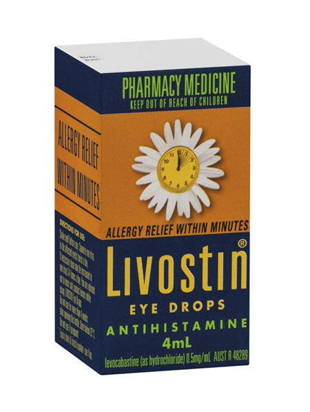 LIVOSTIN Eye Drops 4ml