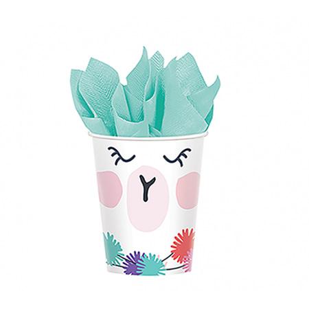 Llama cups x 8.