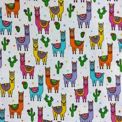 Llama  Flannelette