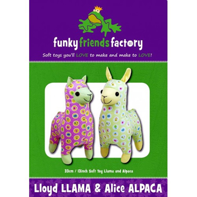 Lloyd Llama & Alice Alpaca