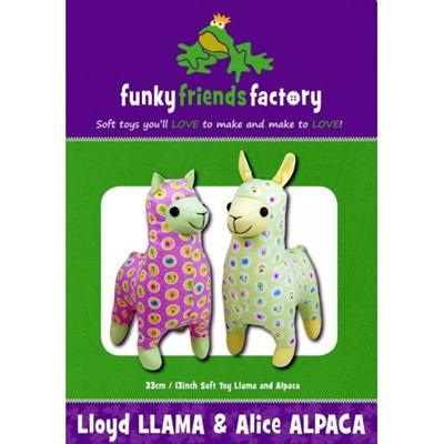 Lloyd Llama & Alice Alpaca Pattern