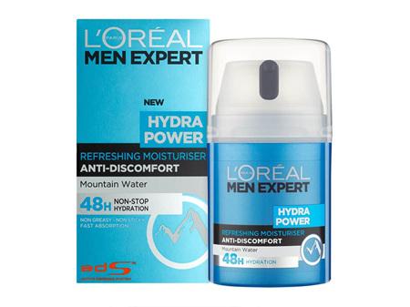 LO Men Exp H/Pwr Moisturiser 50ml