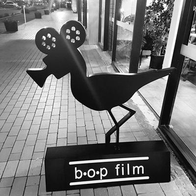 BOP Film 3D Logo