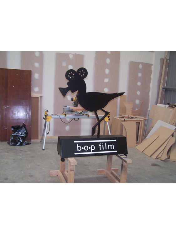 logo  3D  BOP Film  sign  Bob the Bird