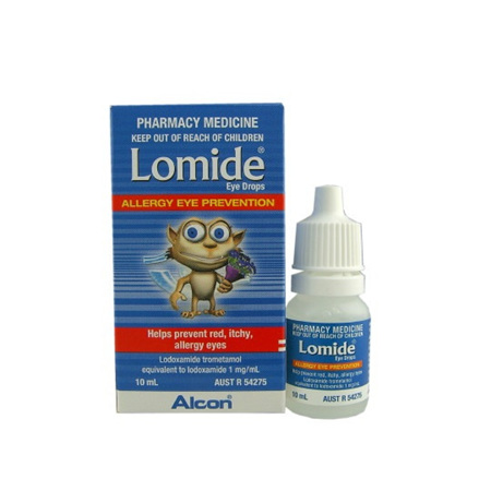 Lomide 0.1% Eye Drops 10ml