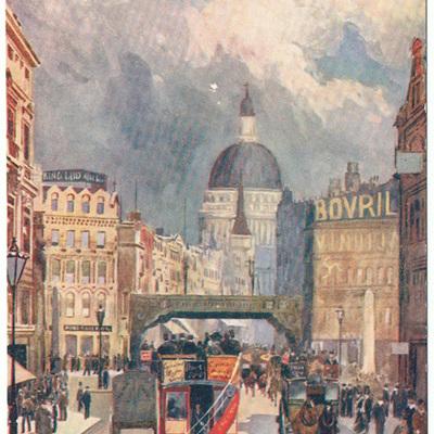 London views postcards