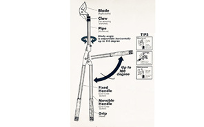 Long reach loppers - Technical notes