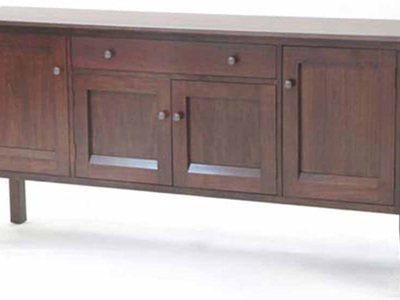 Cirrus Sideboard - Four Door & Drawer