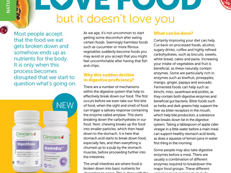 Look after your Gut Health