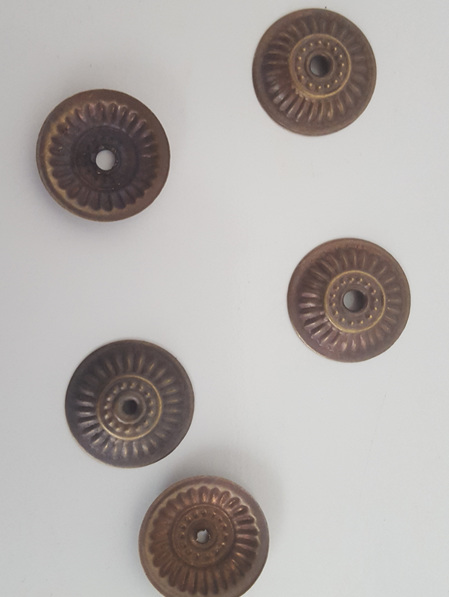 Loose Brass Decorative Washers (Pack of 5)
