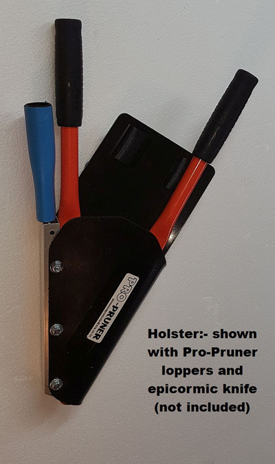 A30-100E Pro-Pruner lightweight holster with epicormic knife slot