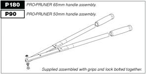 lopper P50 Pro-Pruner handles