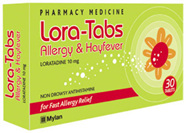 Loratabs 10mg  30 tablets