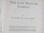 Lord Lytton's Novels. Vol VI. The Last Days of Pompeii