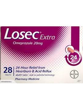 LOSEC Extra 20mg 28tabs