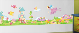Lots of Fairies - Wall Stickers