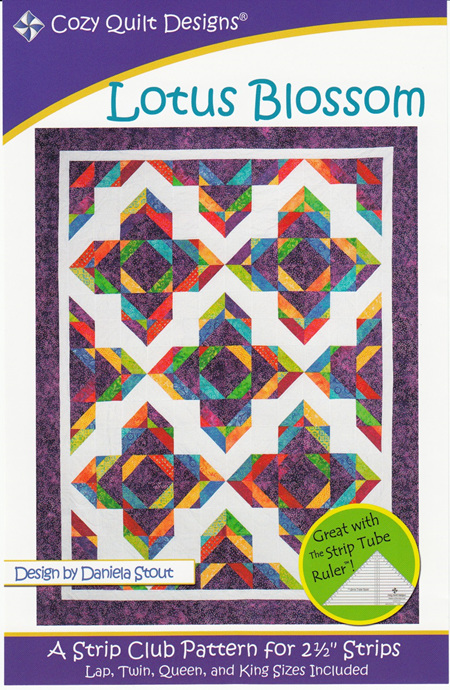 Lotus Blossom Quilt Pattern