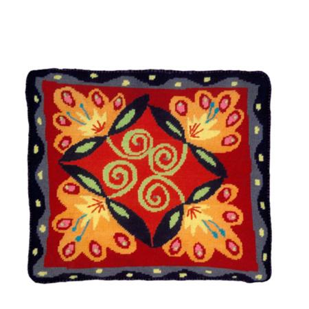 Lotus Cushion by Jennifer Pudney