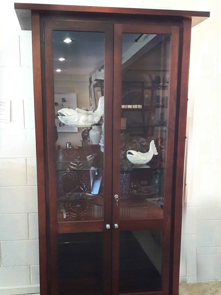 Lotus Display Cabinet