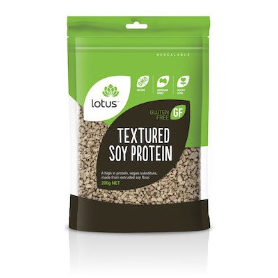 Lotus Textured Soy Protein (Gluten Free) 200g