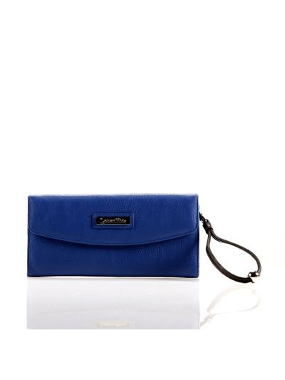 LOUENHIDE INDIGO CLUTCH / ELECTRIC BLUE