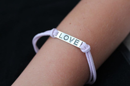 LOVE Bracelet - PURPLE