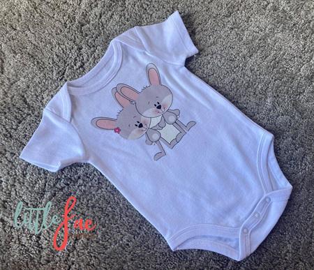 Love Bunnies Baby Bodysuit