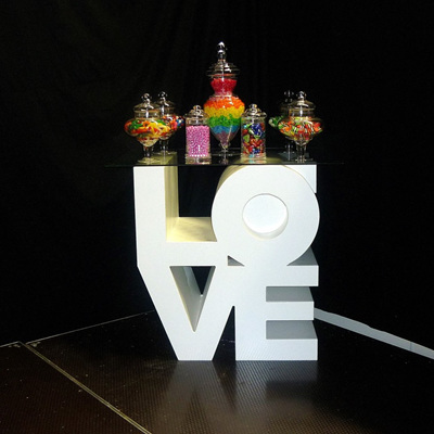 LOVE Cube Table (Large)