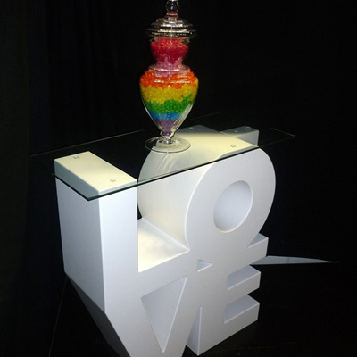 LOVE Cube Table (Small)