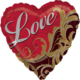 Love foil balloon - 45 cm