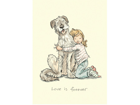 Love is Forever Card by Two Bad Mice