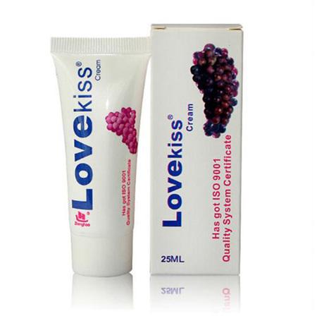 LOVE KISS Grape Flavoured Lubricant 25ml