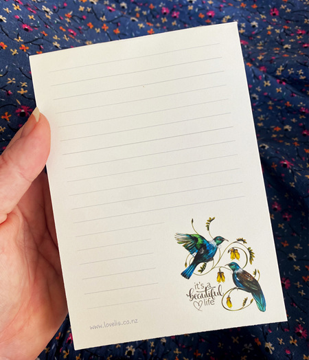 Love Lis Notepads