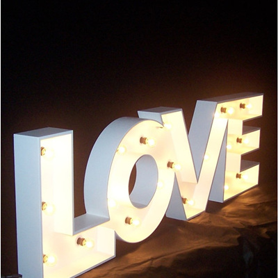 LOVE Marquee Letter Light
