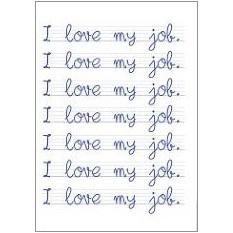 Love My Job Fridge Magnet
