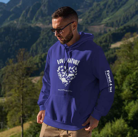 Love Nature Hoodies - With Sleeve Print