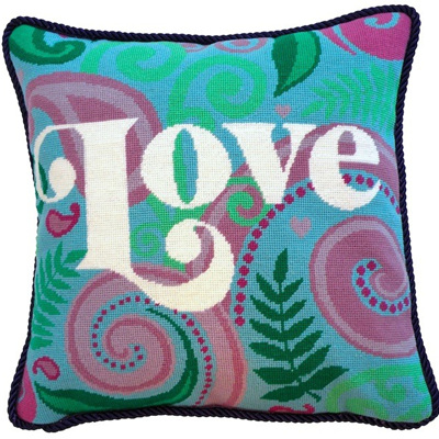 Love Needlepoint Kit CLEARANCE